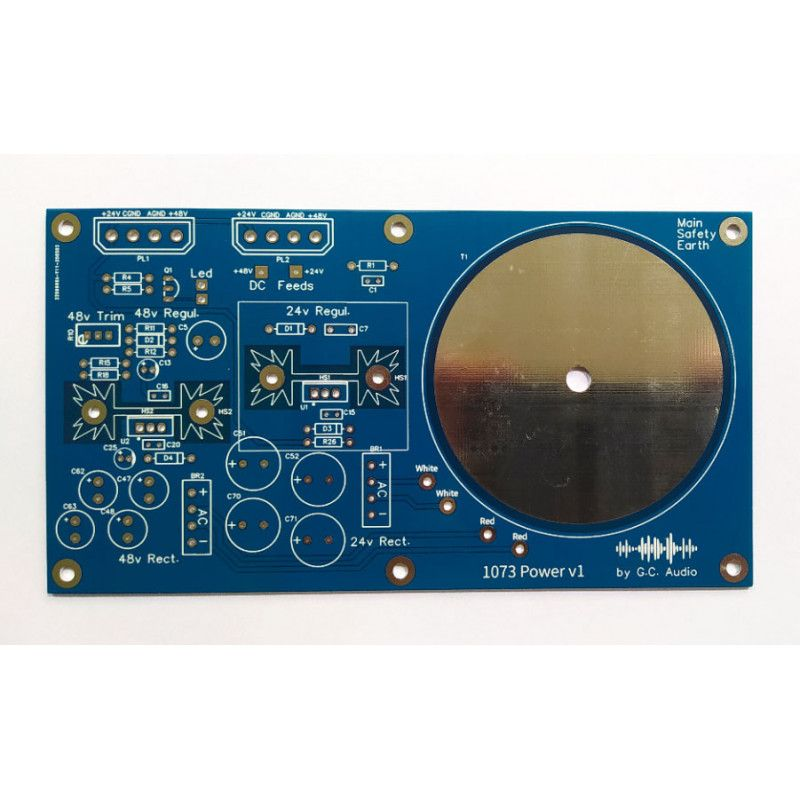 PCB Power supply GC-73 (Neve Clone)