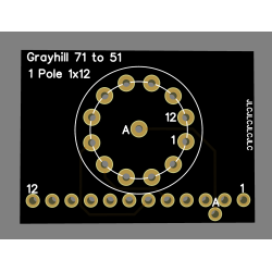 Adapateur Grayhill série 71...